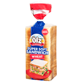 Supersoft Sandwich Wheat 750g