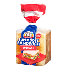 Supersoft Sandwich Wheat 375g