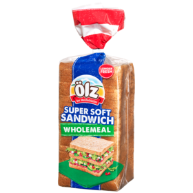 Supersoft Sandwich Wholemeal 750g