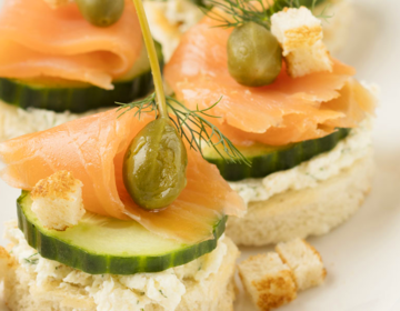 Ölz Butter Toast Lachs Canapes