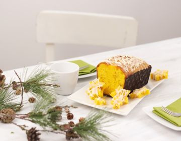 Ölz Winterkuchen Orange mit Orangenpunsch-Glasur